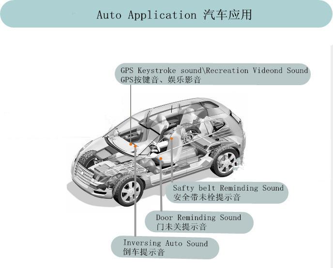 汽车蜂鸣器的作用与结构原理